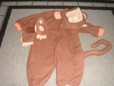 TOM ARMA MONKEY COSTUME 18M-2T 18-24