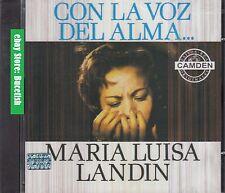 Maria Luisa Landin Con La Voz del Alma CD New Nuevo sealed