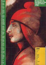 Affiche du Bicentenaire de la Révolution Française - GLASER MILTON - 1989