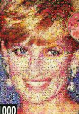 """DIANA"" England Lady Princess Royalty Photomosaic BOXLESS Jigsaw Puzzle *NEW*"