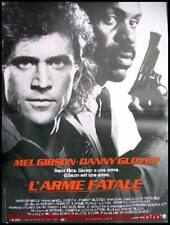 L'ARME FATALE Lethal Weapon Affiche Cinéma Movie Poster MEL GIBSON DANNY GLOVER