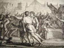 GRAVURE XVIIIe / PREMIÈRE CROISADE AN 1096