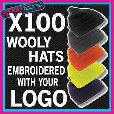 X100 Wooly Hüte Personalisierte mit Ihrem Logo/Text Business Workwear