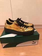 Puma Schuhe Platform Gold Schwarz Gr 37 (37,5) Neuw 18d319f2b7