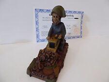 Tom Clark + Bobcat + Cairn Gnome # 5114 Coa ink signed