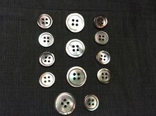 Trocas  Shell Buttons ,Grey/Blue/Brown for suits,jackets.
