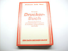 < el gran impresora-libro > Data Becker libro para Commodore c64 (z2g023)