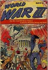 WORLD WAR III #1 (1952) PHOTOCOPY COMIC BOOK - ACE MAGAZINES