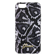 Guess Animal Collection TPU Case for Iphone 6 6s  - Python Black Retail Packed