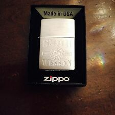 "Zippo Lighter ""Smith and Wesson Since 1853"" 1998 Design"