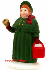 Dept. 56 City People Woman with Bell Only Christmas in the City 59650