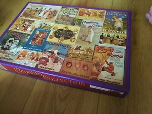 Cadburys chocolate JIGSAW puzzle 1000 pieces - Gibsons Heritage Collection snack