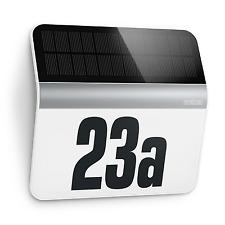 Steinel 007140 Solar Hausnummernleuchte XSolar LH-N LED mit Dämmerungsschalter