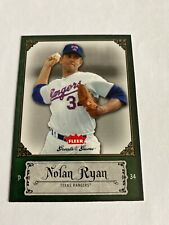 2006 Fleer #67 Nolan Ryan, Texas Rangers, Greats Of The Game