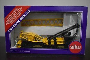 Used 1:55 Scale Siku 4310 Latticed Mast Crane