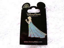 Disney * PRINCESS ELSA - FROZEN * Coronation Gown New on Card Trading Pin