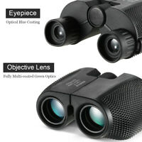 Foldable Pocket 10x25 Binoculars 114m/1000m Telescope for Outdoor Sports Hunting