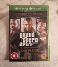 Nouveau Grand Theft Auto IV 4 The Complete Edition Xbox One/Xbox 360 Limited RARE