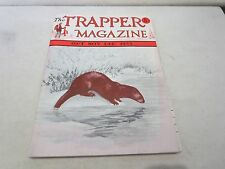 The Trapper Magazine 1955 Catalog Trapping Supplies