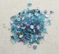 50g Natural Fluorite Quartz Crystal Stone Rock Rough Polished Gravel Specimen