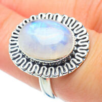 Rainbow Moonstone 925 Sterling Silver Ring Size 7 Ana Co Jewelry R30891F