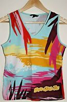 H&M L.O.G.G. Sport Women's Multi Board Girls inc Sleeveless Top T-shirt Size M