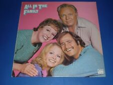 """ALL IN THE FAMILY"" - TV SHOW - RECORD ALBUM LP - w/ INSERT - ATLANTIC"