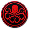 Captain America Hydra Patch Iron on Emblem Logo Shirt Orion Marvel Comics Movie