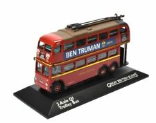 3 Axle QI Trolley Bus London Transport 1/76 Scale, Atlas Editions.