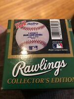 Game Ball: Rawlings Official Major League Leather Baseball (2000) MLB Licensed