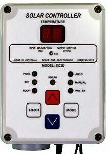 Digital Solar Differential Controller (SC3D)