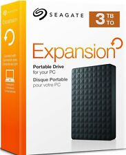 Seagate Expansion 3 TB USB 3.0 Portable 2.5 inch External Hard Drive for PC,