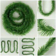 Decorazioni verdi per albero di Natale ghirlanda