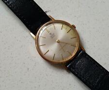 Men's Vintage Gold Plated Manual Winding Rolex Tudor Royal Dress Watch