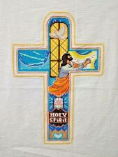 "New Finished completed Cross stitch""Jesus Cross""home decor gifts"