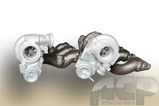 Set of Two Turbochargers for Volvo S80 I 2.9 T6. 2922 ccm,  272 BHP, 200 kW.