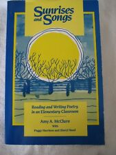 Sunrises and Songs Reading Writing Poetry Elementary Classroom McClure Heinemann