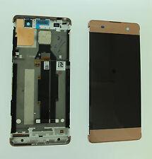 Sony xperia xa écran lcd numériseur tactile original véritable or rose uk