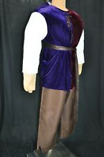 Quasimodo Hunchback Notre Dame 4 pc. Costume Pants Top Hump Sash Men's 42-48