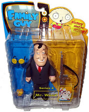Family Guy Mr. Weed Action Figure Pink Shirt Variant MIB Mezco RARE Toy Series 4