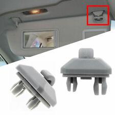 2x Gray Inner Sun Visor Clip Fits Audi A3 A4 A5 Q5 A7 B6 B7 B8 S4 S5 #8U0857562A