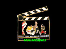 WHO FRAMED ROGER RABBIT Movie CLAPBOARD Disney 2006 LE 500 Pin