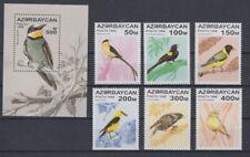 Aserbaidschan  313 - 18 + Block 23  Vögel - Birds  **  (mnh)