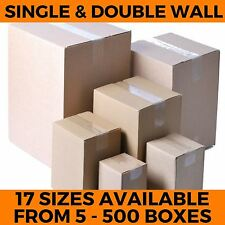 More details for  strong new cardboard boxes single & double wall postal packing mailing cartons