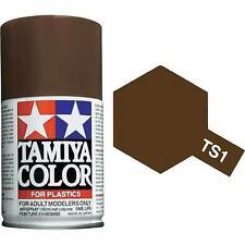 Tamiya TS-1 Red Brown Spray Paint Can 3.35 oz 100ml 85001 Mid-America Raceway