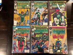Green Lantern Emerald Dawn 2 II 1-6 High Grade Comic Books SET LOT RUN A3-97