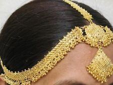 Indische Bollywood Bauchtanz Stirnband Haarband Haar- / Kopfschmuck vergoldet