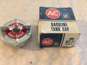 Vintage Genuine AcDelco GT-71 Gas Cap CONCORD GREMLIN HORNET ELCAMINO CHARGER
