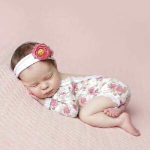 Newborn Lace Romper  Floral Lace Romper Photography Prop