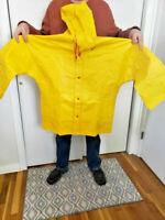 Lime Green Rain Suit Coat Hi Vis Jacket Breathable 4XL 6XL 3XL M S